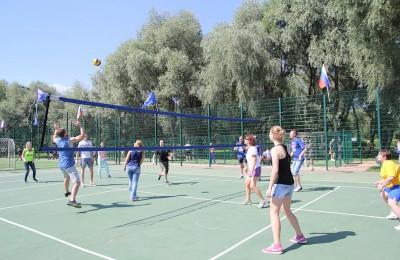 В четверг, 7 июля, в районе Зябликово пройдут соревнования по волейболу среди дворовых команд