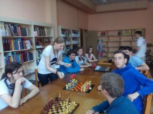 В библиотеке №145 района Зябликово состоялся первый этап окружного турнира по шахматам