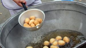 Приготовление баурсаков