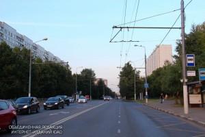 На фото Шипиловская улица