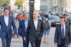 Мэр Москвы Сергей Собянин рассказал о благоустройстве Нового Арбата