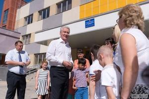 Собянин рассказал о строительстве образовательных учреждений в Москве
