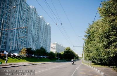 Дома по улице Шипиловская