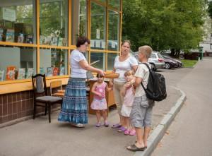 На фото читатели местной библиотеки