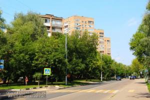 Улица района Зябликово