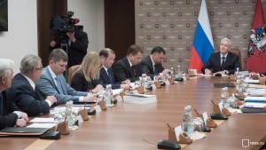 На заседании мэр Москвы Сергей Собянин обсудил с коллегами тему приближающихся выборов в Государственную думу