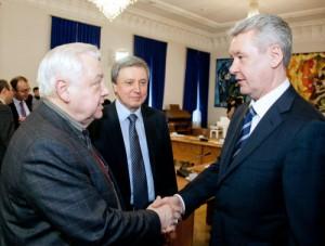 Мэр Москвы Сергей Собянин принял участие в открытии новой сцены театра под руководством Олега Табакова