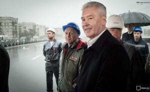 По словам Собянина, завершился этап реконструкции Калужского шоссе в юго-западном направлении от Москвы