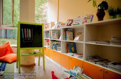 В детской библиотеке№153