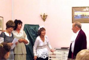 Спектакль по произведению Михаила Булгакова показали в библиотеке №144