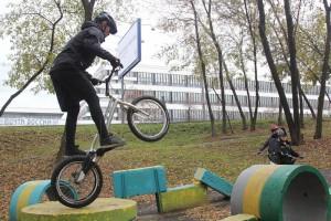 В этот день в ЮАО выявили не только самого крепкого и подготовленного велосипедиста