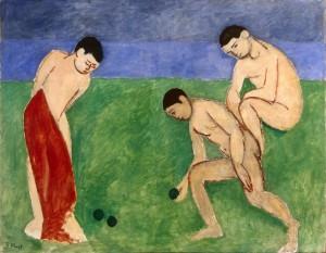 Анри Матисс. Игра в шары