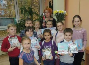 Известная детская писательница Мария Бершадская навестила юных читателей библиотеки №145