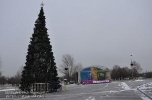 Новогодняя елка в ЮАО