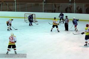 Хоккейная команда «Русь» лидирует в первенстве Москвы