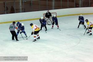 На фото хоккеисты из ЮАО