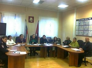 Заседание комиссии в Зябликове