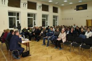 Встреча главы управы Забликова с жителями