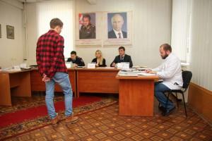 В Зябликове прошло заседание призывной комиссии