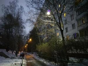 Освещение на одной из улиц в Зябликове восстановили по просьбе местных жителей