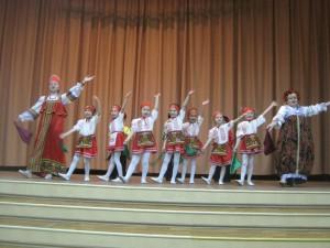 """Фестиваль """"Русская душа"""" в школе №2116"""