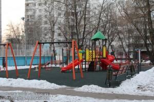 Детская площадка на улице Мусы Джалиля