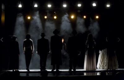 Спектакль в одном из московских театров