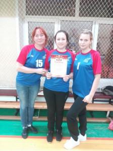 Команда педагогов школы №534 на окружных профсоюзных соревнованиях по настольному теннису