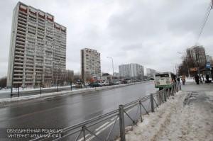 Улица Мусы Джалиля в районе Зябликово