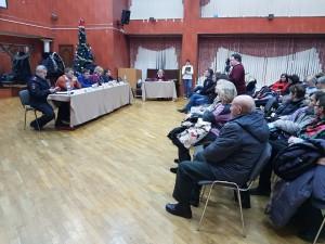 Встреча главы управы Константина Князева с жителями