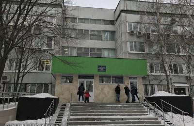 Поликлиника №145 в районе Зябликово