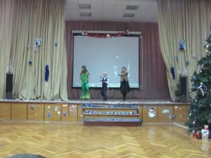 Концерт «В поисках Деда Мороза» в школе №991