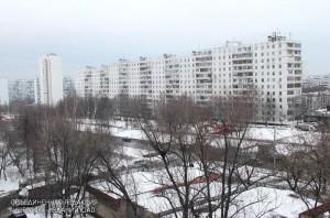 Многоэтажный жилой дом в районе Зябликово