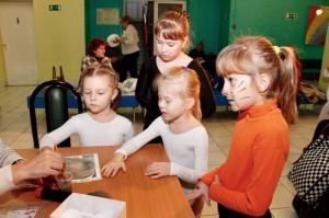 """Мастерская «Зимний фейс-арт» в """"Радужном"""""""