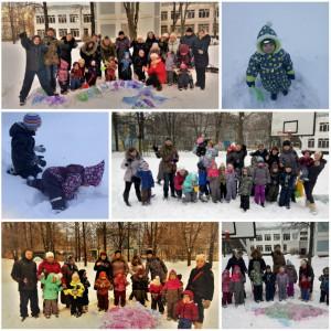 «Снежный фестиваль» в отделение ГППЦ ДОгМ в Зябликове