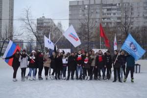 «День студента на льду» на катке в Ореховом проезде