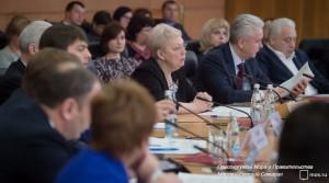 Сергей Собянин на Международной конференция по результатам исследований качества образования TIMSS 2015 и PISA
