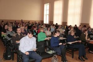 Слушатели лекции в ГППЦ ДОгМ