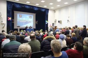 Алексей Челышев ответил на вопросы жителей ЮАО