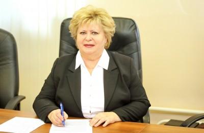 На фото депутат муниципального округа Зябликово Елена Егорова