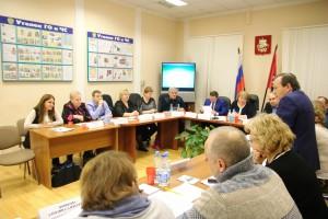 Галина Борисова и  Алла Ошнокова выступили перед Советом депутатов