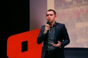 Руководитель «Молодой Гвардии» Зябликова Алексей Гераськин