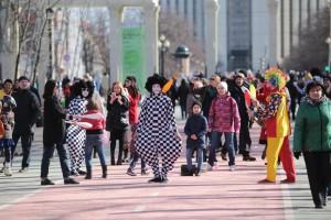 Более полумиллиона человек стали гостями фестиваля «Ворвись в весну»