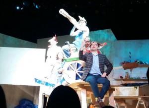 Спектакль в Московском окружном государственном Театре юного зрителя