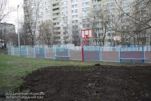 Спортивная площадка в Зябликове