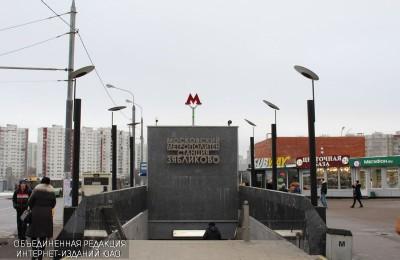 """Станция метро """"Зябликово"""""""