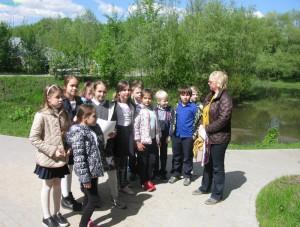 Ученики школы №534 приняли участие в социально-патриотическом проекте