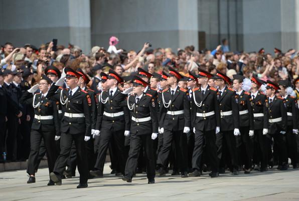 Парад кадет в столице России соберет неменее 2 500 участников