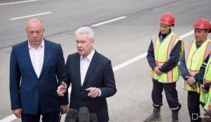 Собянин: Завершен I этап реконструкции Калужского шоссе