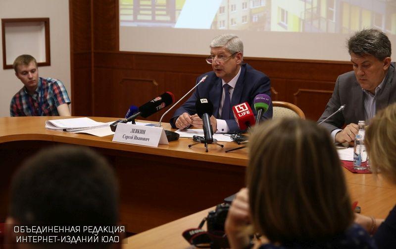 Департамент градостроительной политики активно поддерживает программу реновации жилья в российской столице  - Левкин